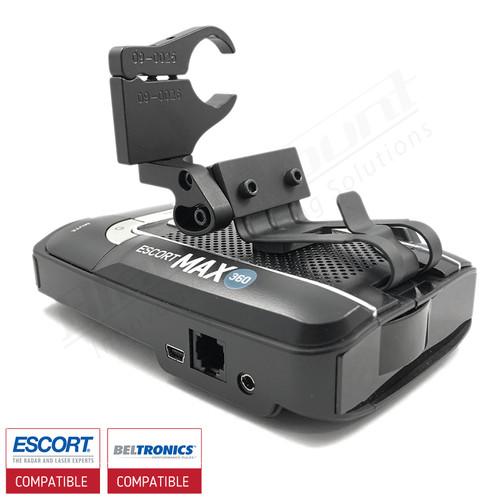 Aluminum Radar Detector Mount for Beltronics GT/Escort Max 360, Max2/Max/Max II, Specialty 2031 Series