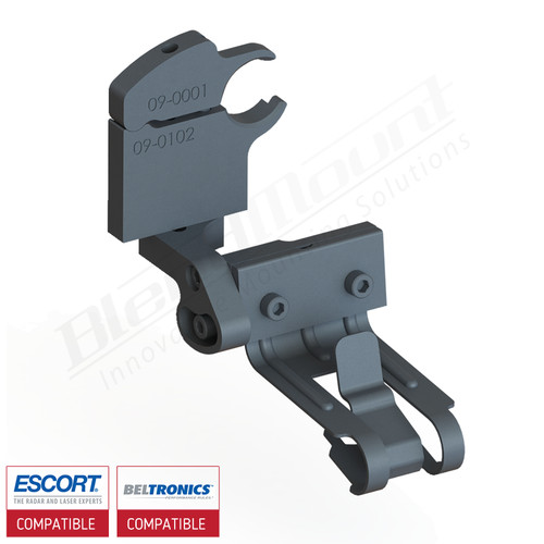 BlendMount BMX-3014 Escort radar detector mount rendering