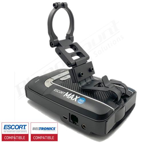 Aluminum Radar Detector Mount for Beltronics GT/Escort Max 360, Max2/Max/Max II, Standard 2003R Series