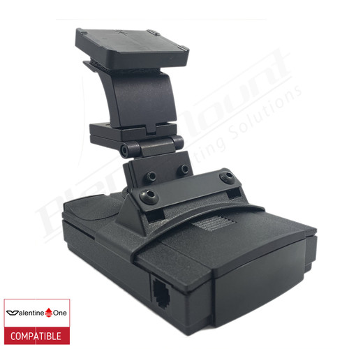 BlendMount BV1-2006 radar detector mount with Valentine One iso view 1