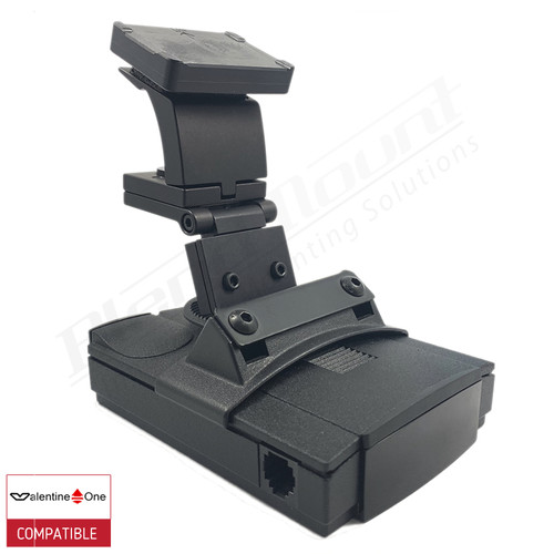 BlendMount BV1-2007 radar detector mount with Valentine One iso view 1