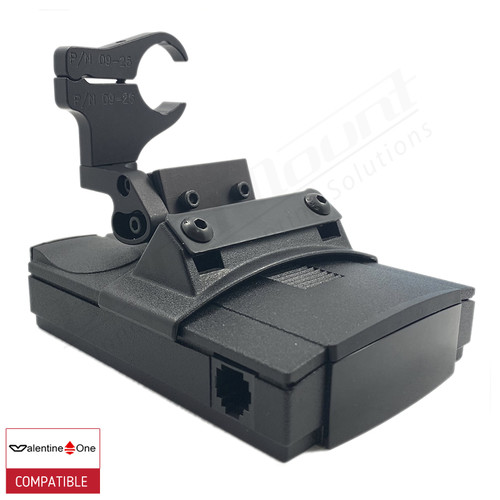 BlendMount BV1-2031 radar detector mount with Valentine One iso view 1