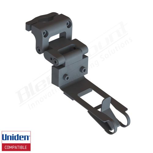 Aluminum Radar Detector Mount for Uniden R1/R3,DFR8/DFR9, Specialty 2034 Series