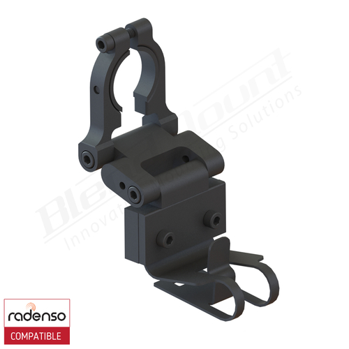 BlendMount BRX-2001R Radenso radar detector mount rendering
