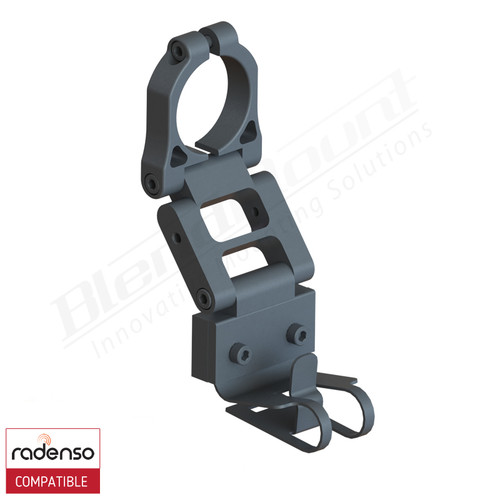 BlendMount BRX-2004R Radenso XP Radar Detector mount rendering