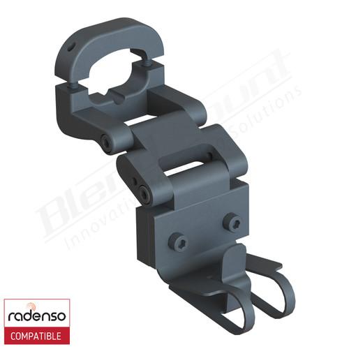 BlendMount BRX-2005R Radenso radar detector mount rendering