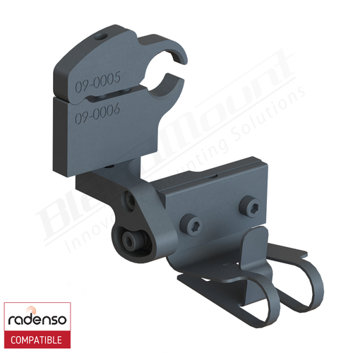 BlendMount BRX-2016 Radenso XP radar detector mount rendering