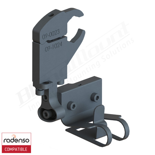 BlendMount BRX-2019 Radenso XP Radar Detector Mount rendering