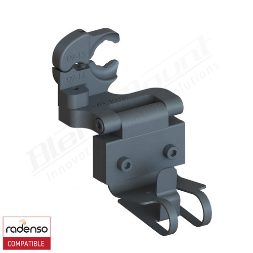 BlendMount BRX-2023 Radenso XP radar detector mount rendering