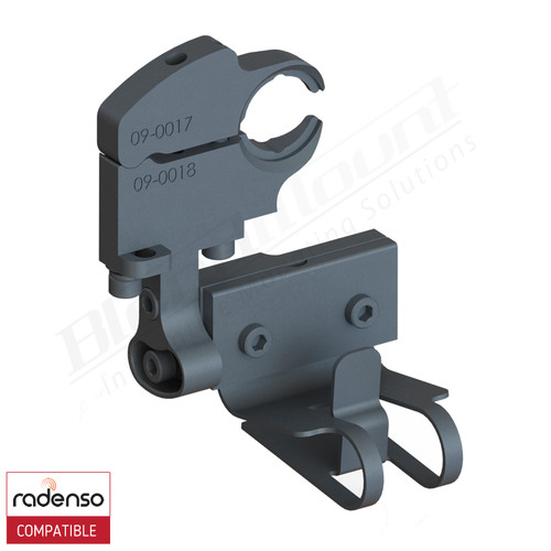 BlendMount BRX-2025 Radenso XP radar detector mount rendering
