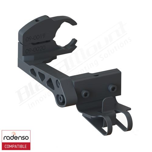 BlendMount BRX-2027 Radenso XP radar detector mount rendering