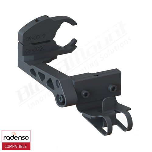 BlendMount BRX-2027 Radenso XP radar detector mount rendering