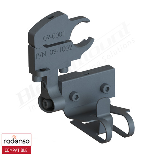 BlendMount BRX-2029 Radenso XP radar detector mount rendering