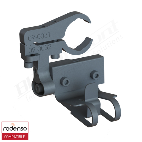 BlendMount BRX-2032 Radenso XP radar detector mount rendering