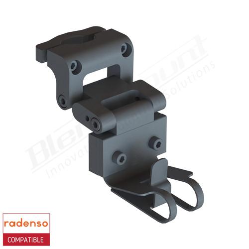 BlendMount BRX-2034 Radenso XP radar detector mount rendering