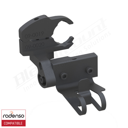 BlendMount BRX-2035 Radenso XP radar detector mount rendering