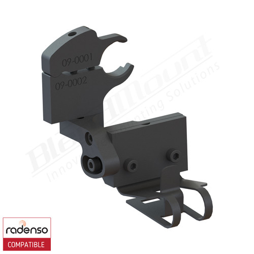 BlendMount BRX-2114 Radenso XP Radar Detector mount rendering