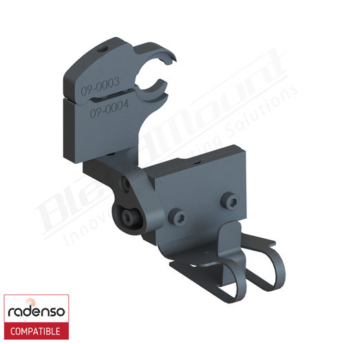 BlendMount BRX-2115 Radenso XP Radar Detector mount rendering
