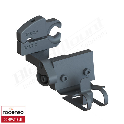 BlendMount BRX-2120 Radenso XP Radar Detector mount rendering
