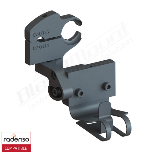 BlendMount BRX-2121 Radenso XP Radar Detector mount rendering