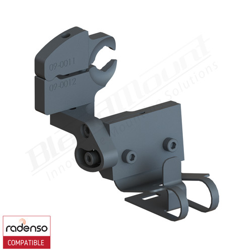 BlendMount BRX-2122 Radenso XP Radar Detector mount rendering