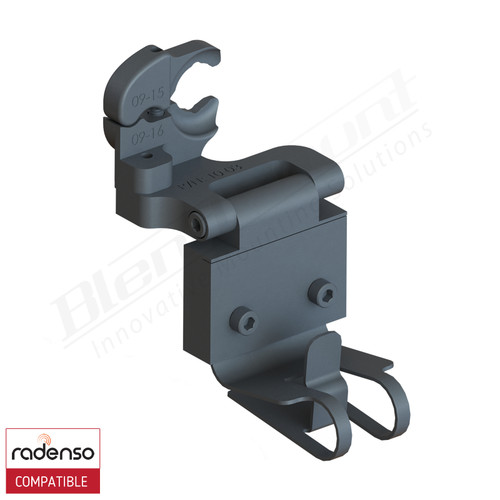 BlendMount BRX-2123 Radenso XP Radar Detector mount rendering