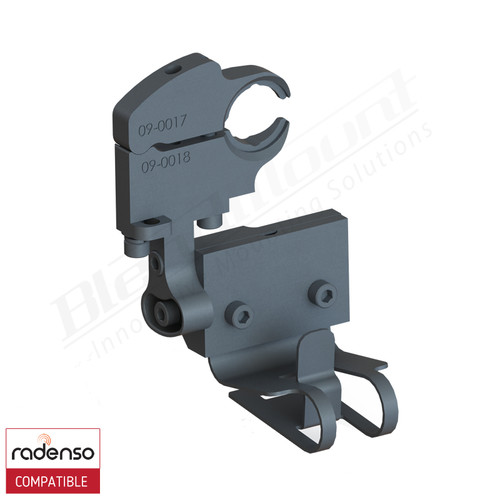 BlendMount BRX-2125 Radenso XP Radar Detector mount rendering