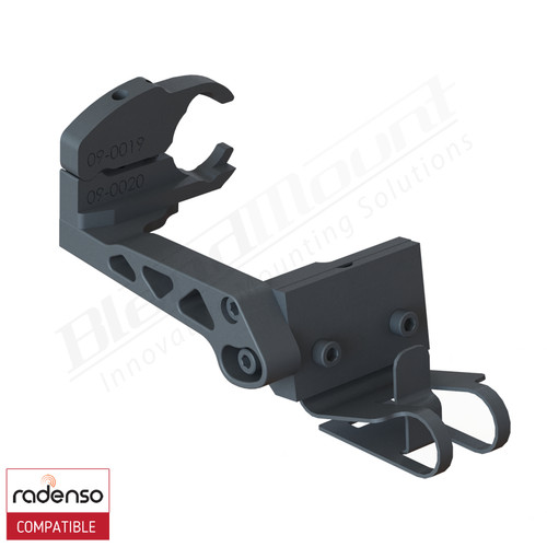 BlendMount BRX-2127 Radenso XP Radar Detector mount rendering