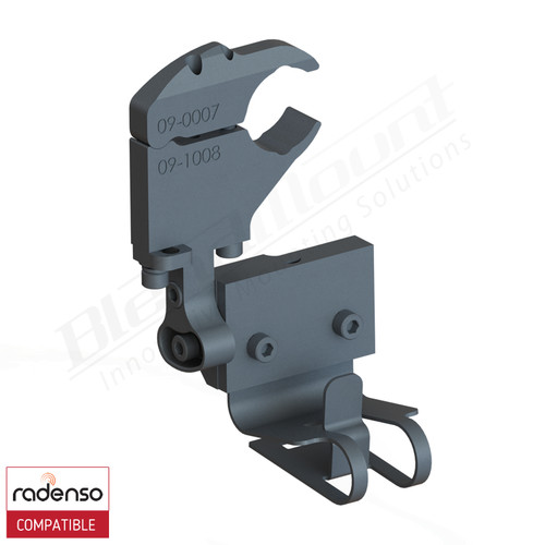 BlendMount BRX-2130 Radenso XP Radar Detector mount rendering