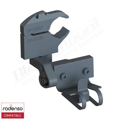 BlendMount BRX-3017 Radenso XP radar detector mount rendering