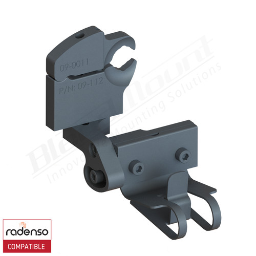BlendMount BRX-3022 Radenso Xp radar detector mount rendering