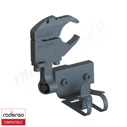 BlendMount BRX-3030 Radenso Xp radar detector mount rendering