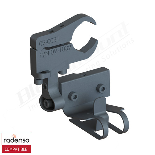 BlendMount BRX-3032 Radenso Xp radar detector mount rendering