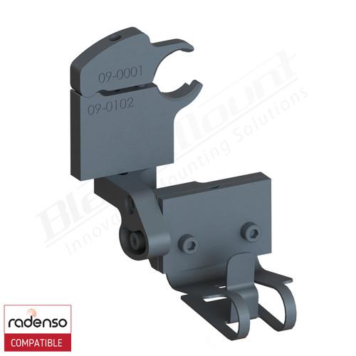 BlendMount BRX-3114 Radenso XP radar detector mount rendering