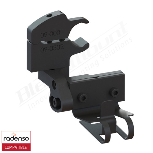 BlendMount BRX-4014 Radenso XP radar detecttor mount rendering