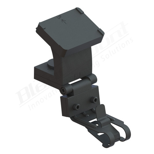 BlendMount BK4-2006 Radar Detector Mount rendering