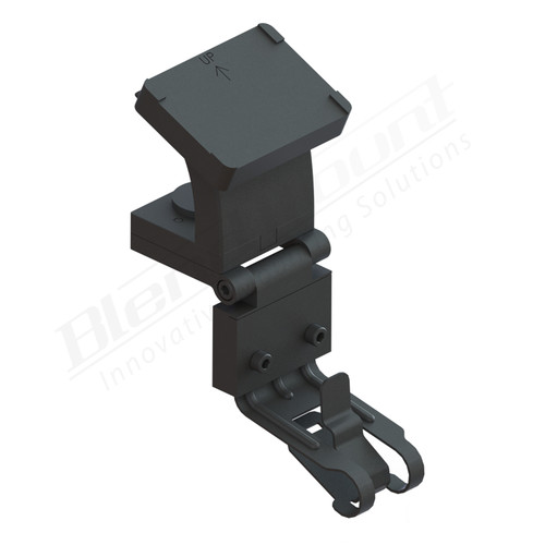 BlendMount BK4-2007 K40 Radar detector Mount rendering