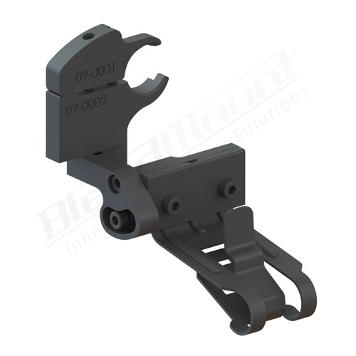 BlendMount BK4-2014 K40 Radar Detector Mount rendering