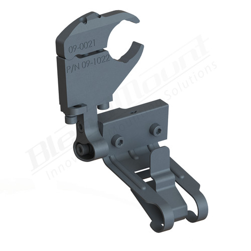 BlendMount BK4-2018 K40 Radar Detector Mount rendering