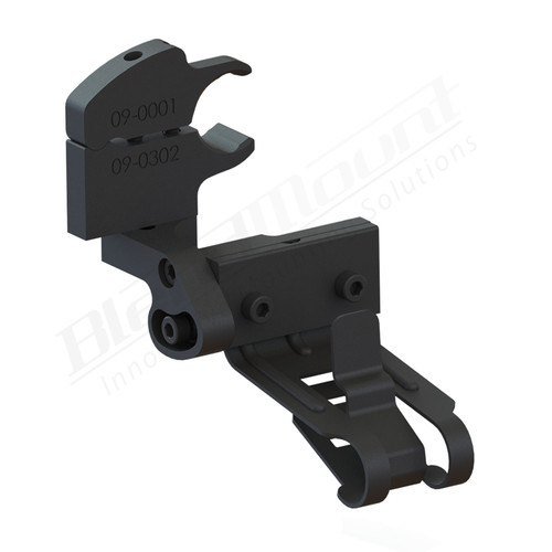 BlendMount BK4-4014 BK4 radar detector mount rendering