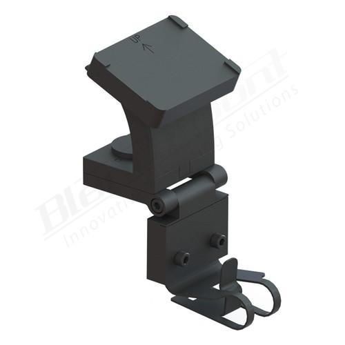 BlendMount BND-2007 Uniden DFR/LRD Radar detector mount rendering
