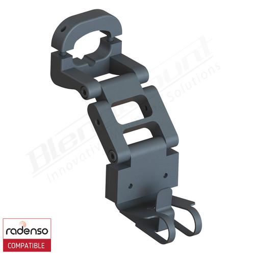 Aluminum Radar Detector Mount for Radenso Pro-M/Pro/Pro SE, Standard 2005R Series