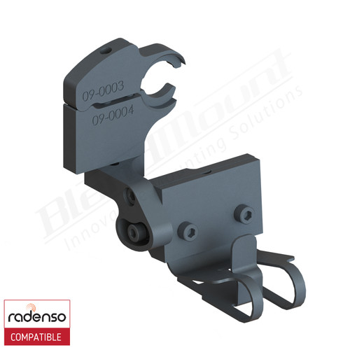 BlendMount BRD-2115 Radenso Pro Radar Detector mount rendering