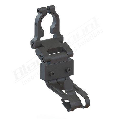 BlendMount BCB-2001R Cobra Radar Detector mount rendering