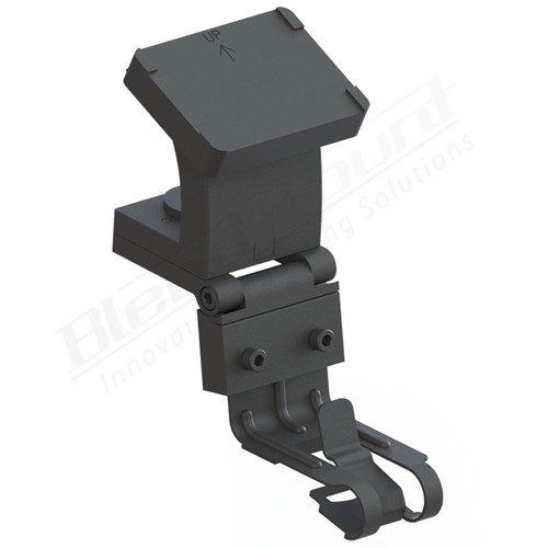 BlendMount BCB-2006 Cobra Radar Detector mount rendering