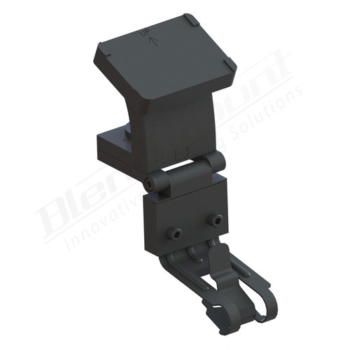 BlendMount BCB-2007 Cobra Radar Detector mount rendering