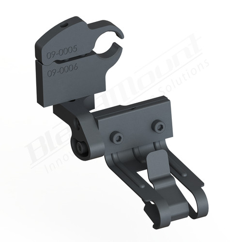 BlendMount BCB-2016 Cobra Radar Detector mount rendering