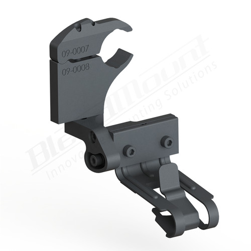 BlendMount BCB-2017 Cobra Radar Detector mount rendering