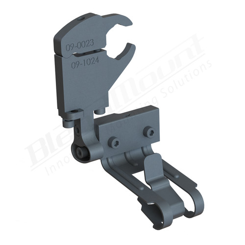 BlendMount BCB-2019 Cobra Radar Detector mount rendering