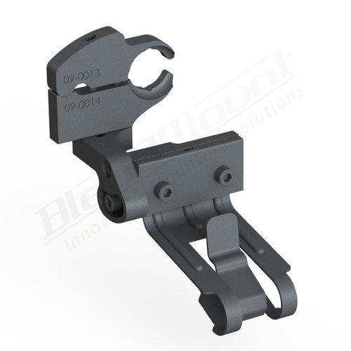 BlendMount BCB-2021 Cobra Radar Detector mount rendering